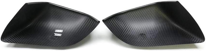 Schwarz Gl/änzend TGFOF Auto Kohlefaser Spiegelkappen passt f/ür Model 3 Limousine 2017-2020 1 Paar R/ückspiegel Abdeckkappe Schwarz Gl/änzend oder Schwarz matt