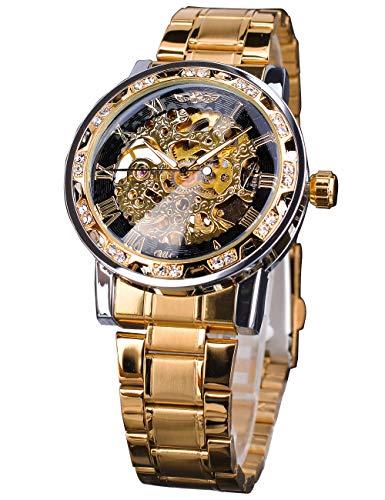 Winner - Reloj de pulsera para hombre, diseño de esqueleto