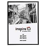 Photo Album Company Aluminio Negro a3 30 x 42 cm Marco de la Foto certificada no Glas-Abertura de la...