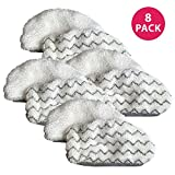 Think Crucial Replacement Mop Pads Compatible with Bissell 1252 Symphony Hard Floor Vacuum