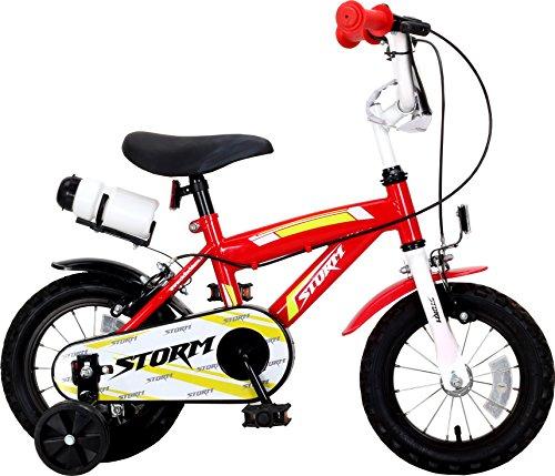 F.lli Schiano Storm, Bicicletta Bambino, Rosso/Bianco, S