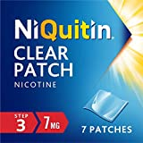 NiQuitin Clear Patch - Step 3 7mg, 7 Patches - Stop Smoking Aid