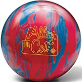 DV8 Alley Cat Bowling Ball- Red/Electric Blue, 10lbs