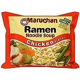 Maruchan Ramen Chicken Flavor Noodle Soup,(Pack of 12),3 oz each
