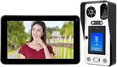 𝐍𝐞𝒘 𝐘𝐞𝐚𝐫𝐬 𝐆𝐢𝐟𝐭𝐬Video Doorphone, 9in Video Doorbell Wired WiFi Face Fingerprint Password RFID Doorphone, Video...