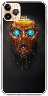 TeeTan Compatible with iPhone 11 Case Borderlands 3 Symbol Gold Mask Vault Hunters Action Game Pure Clear Phone Cases Cover