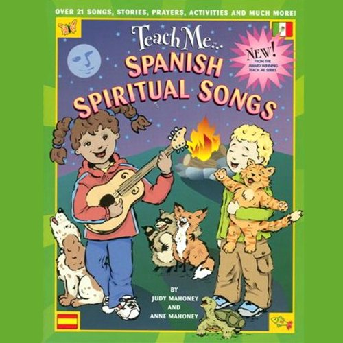 Teach Me Spanish Spiritual Songs audiobook cover art