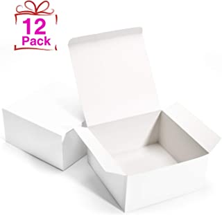 GSSUSA White Bridesmaid Proposal Boxes 12Pack 8x8x4