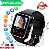 Smartwatch con Whatsapp,Bluetooth Smart Watch Pantalla táctil,Reloj Inteligente Hombre con...