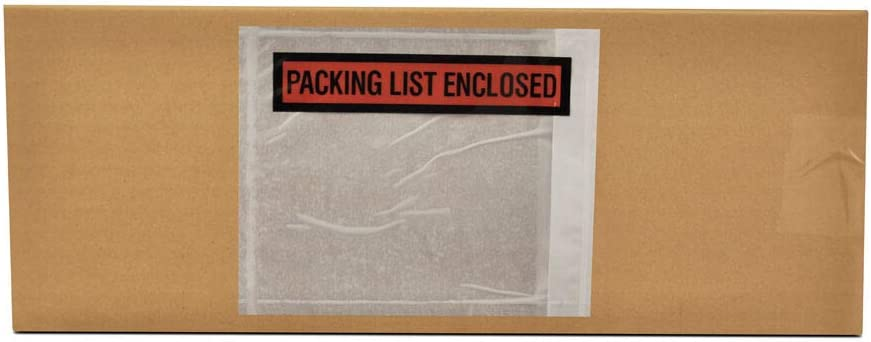 Packing List Enclosed Pouches Denver Mall Invoice Or Clear Nashville-Davidson Mall Envelopes Label