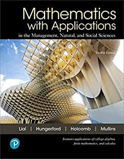 Best mathematics with applications lial Reviews