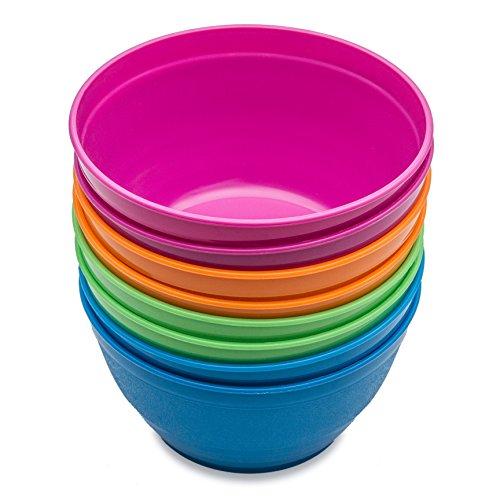 Cereal bowls Soup bowls Snack bowls Noodle bowls Kids bowls Toddlers bowls College Students bowls 8 pieces Assorted Colours