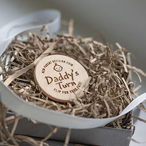 New Parent Wooden Decision Coin, Baby...
