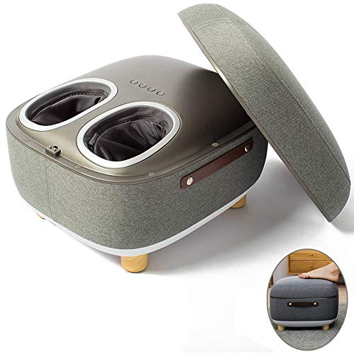 Buy Discount Enwepoeo Foot Massager Electric, Deep Kneading Shiatsu Massage Machine with Storage Rem...