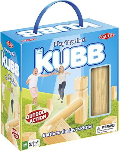 Tactic 55135 Kubb in Cardboard Box, Beige