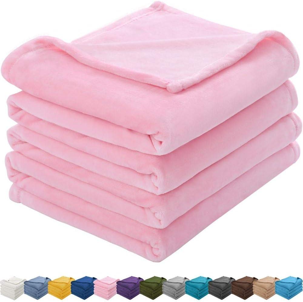 KAWAHOME Flannel Fleece Blanket free shipping Lightweight Warm Micr Max 62% OFF Soft Fuzzy