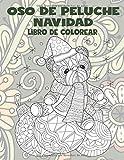 Oso de peluche Navidad - Libro de colorear