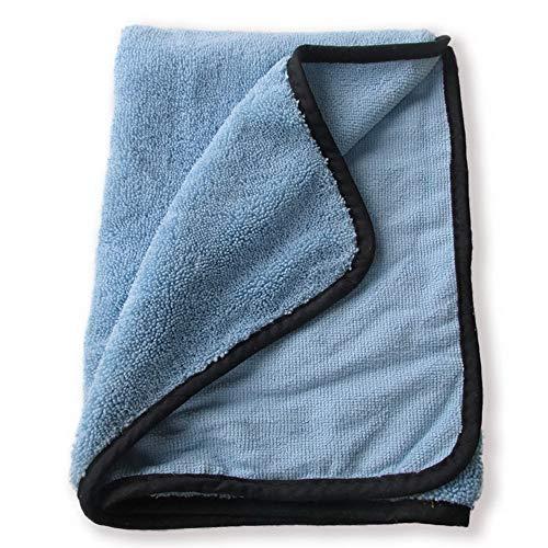 YUYDYU Paño de limpieza de microfibra gruesa, 30 x 30 cm de espesor, toallas de secado absorbentes, paño multiusos para el hogar, cocina, detalles del coche, ventana, hogar