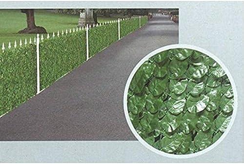 C&C Arella immer Grün Zaun Au  Garten 150cm   H x 300cm   L mqf009