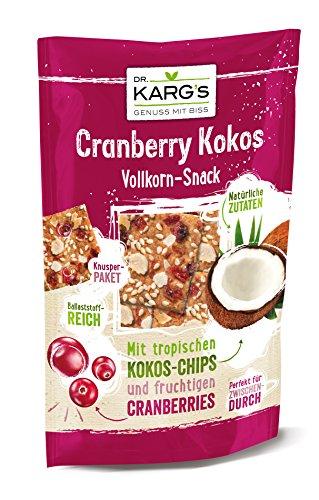 Dr. Karg Snack Cranberry Kokos, 10er Pack (10 x 110 g)