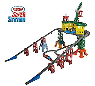 Thomas & Friends FGR22 Super Station, Thomas the Tank Engine Toy Train Set and Railway Track, Mini Wooden Adventures, 3 Year Old (B01N32QLG0)   Amazon price tracker / tracking, Amazon price history charts, Amazon price watches, Amazon price drop alerts