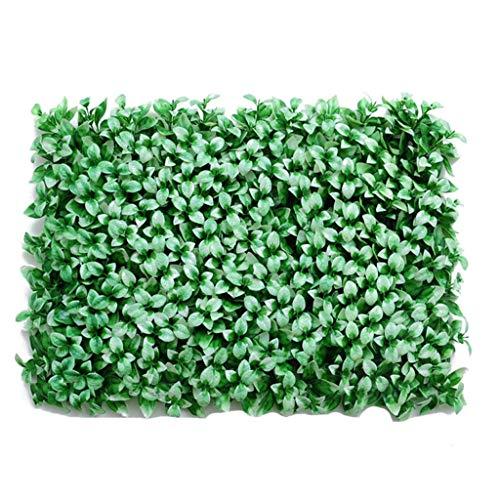 Kunstmatige buxus heggen panelen Fern planten Privacy Hedging muur landschapsarchitectuur tuin hek Faux Plant muur achtergrond