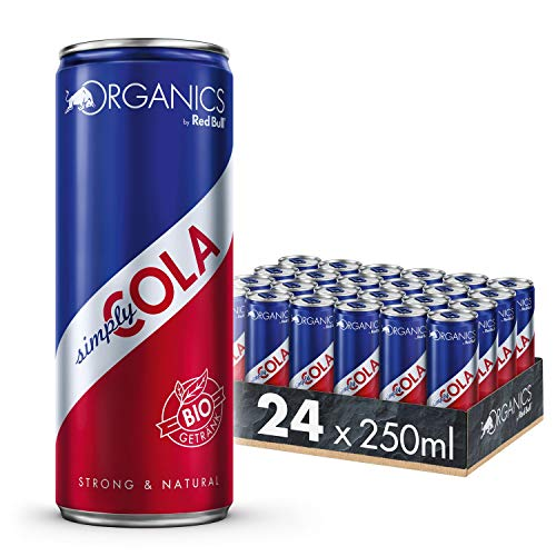 Organics by Red Bull Simply Cola Dosen Bio, 24er Palette, EINWEG (24 x 250 ml)