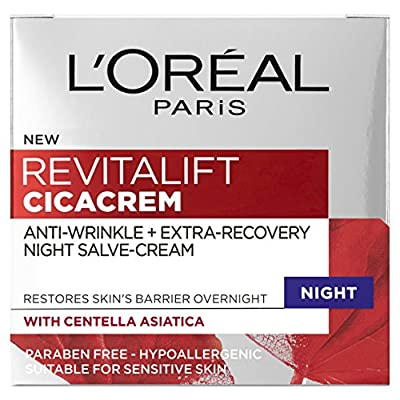 L'Oreal Paris Revitalift Cica Anti Wrinkle Recovery Night Cream, 50ml