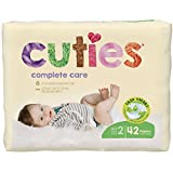 Cuties Complete Care Baby Diapers, Size 2, 40 Count (10090891950666)