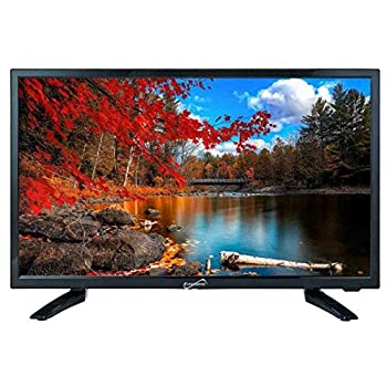 SuperSonic 1080p LED Widescreen HDTV with HDMI Input USB input ACDC Compatible 24-Inch  Renewed