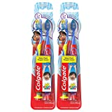 Colgate Kids Toothbrush with Extra Soft Bristles, Ryan's World - 4 Count (For Ages 5+)