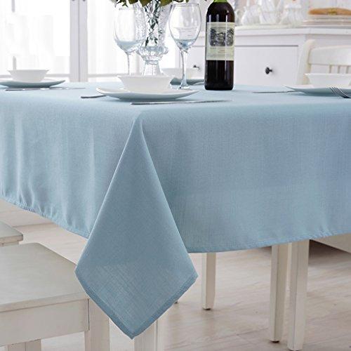 Tischdecken Hotel runden Tischtuch, glattes Baumwolltischdecken, Tischdecken, Kaffeetischtuch, Kirche Tischtuch, mehrere Größen Tischtuch (größe :...