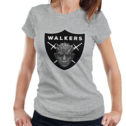 Raiders Logo Night King Game of Thrones Damesshirt