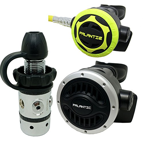 Palantic SCR-01-DIN-NA-OC Scuba Diving Dive AS101 DIN Regulator and Octopus Combo