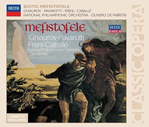 Nicolai Ghiaurov, Luciano Pavarotti, Mirella Freni, Montserrat Caballé, The National Philharmonic Orchestra & Oliviero de Fabritiis