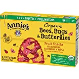 Annie's Homegrown Homegrown Bees Bugs, & Butterflies Fruit Snacks, 4 oz