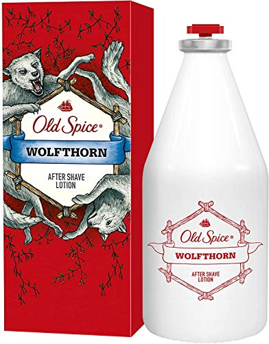 3 x Old Spice Wolfthorn After Shave Lotion je 100ml Rasierwasser For Man
