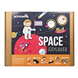 jackinthebox Space Educational Stem Toy | Includes 6 Fun Projects That Range from Arts and Crafts to Science | Ideal Space Gift for Boys and Girls Aged 6,7,8,9,10 Year Old