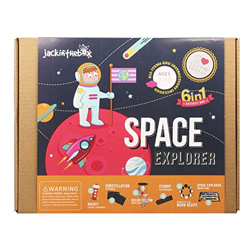 Product Image of the jackinthebox Space Educational Stem Toy | Includes 6 Fun Projects That Range...