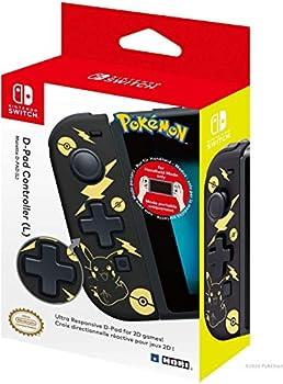 Hori Nintendo Switch D-Pad Controller (L) (Pokemon: Black & Gold Pikachu)