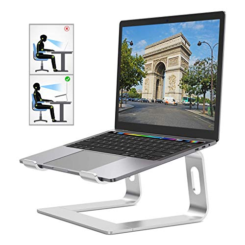 Laptop Stand,Aluminum Removable Laptop Holder, Ventilated Notebook Stand Compatible for MacBook Pro/Air, 10-15.6' Notebook and Samsung Tablet,HUAWEI MateBook