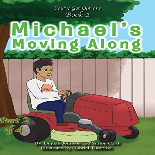 Michael's Moving Along  audiobook cover art