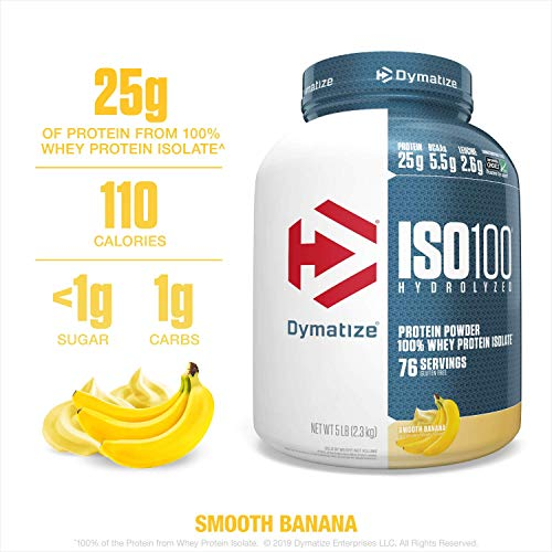 Dymatize ISO100 Hydrolyzed Protein Powder,...