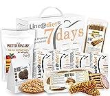 PERSONALIZZA il tuo KIT PROTEICO per 7 giorni Line@diet! Buste, snack dolci o salati, pasta, pane e molto altro ad alto contenuto di proteine!