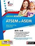 Concours ATSEM et ASEM 2020-2021 - Ecrit + Oral - N° 16 - Catégorie C - (IFP) - 2020