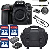 Nikon D7500 DSLR Camera (Body Only) with 3 Memory Card Bundle