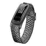 HUAWEI Band 4e Smart Band, Sports Bracelet Activity Fitness Trackers Basketball Mode, 2 Weeks Battery Life, 5ATM Waterproof Smart Wristband, Misty Grey