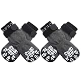 PUPTECK Double Side Anti-Slip Dog Socks...