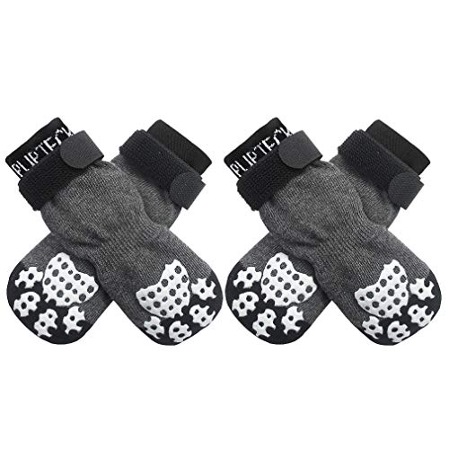 PUPTECK Double Side Anti-Slip Dog Socks