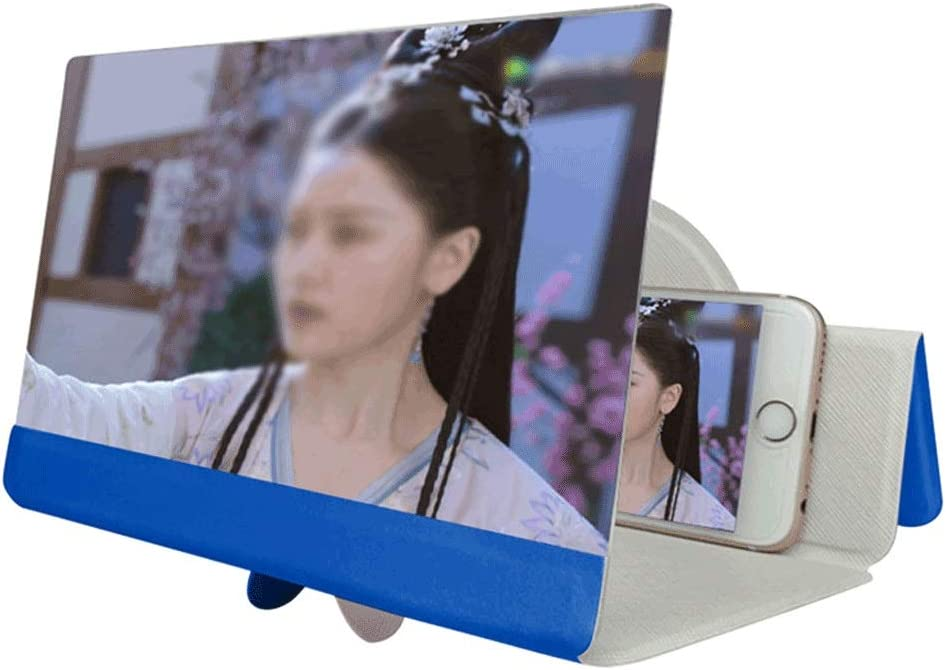SSMDYLYM 5D Low price Video Screen Tulsa Mall Amplifier Phone Foldable Magnifi